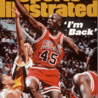Michael Jordan IS BACK...In Old Cover Of Sports Illustrated Form!