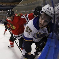 Blackhawks vs. Blues First Round Schedule