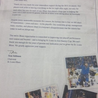 The Blues Are Sorry, St. Louis
