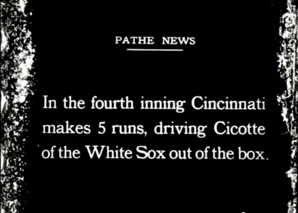 Let's Watch The 1919 White Sox Throw A World Series