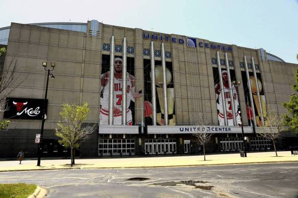 POTD: The United Center Got The Carmelo Treatment