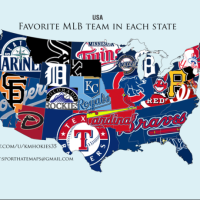 POTD: Each State's Favorite Baseball Team