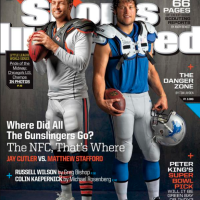 The Cover Of Sports Illustrated Features A Lot Of Interceptions