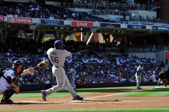 USP MLB: LOS ANGELES DODGERS AT SAN DIEGO PADRES S BBN USA CA